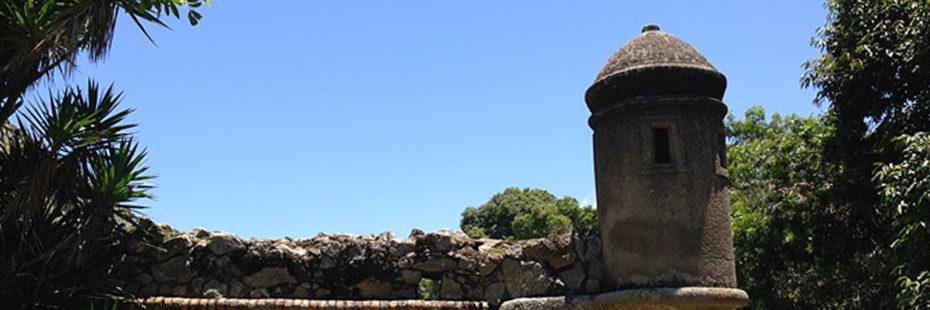 Foto do Forte na parte norte da ilha de Florianópolis em Santa Catarina. Imagem para o blog da Pousada dos Sonhos em Jurerê.