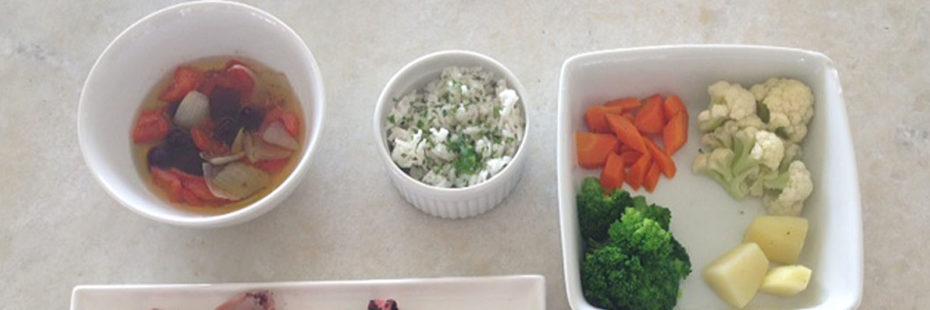 Ingredientes para receita de tentáculo de polvo com legumes no blog da Pousasa dos Sonhos em Jurerê, Florianópolis