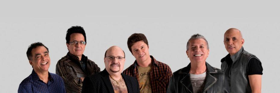 Imagem com os integrantes da banda Roupa Nova em banner destaque para o blog da Pousada dos Sonhos em Jurerê, Florianópolis