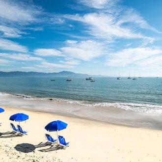 Praia de Jurerê em Florianópolis