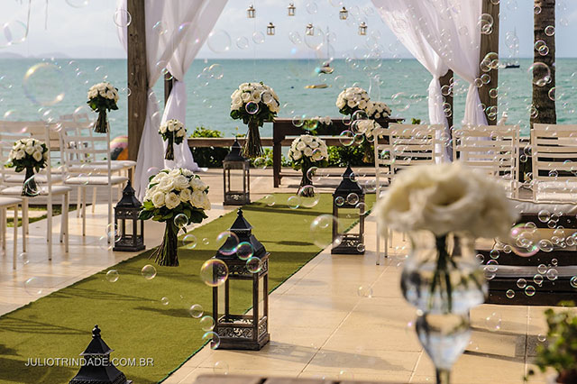 Casamento na praia de Jurerê em Florianópolis