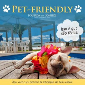 Hotel pet friendly em Florianópolis
